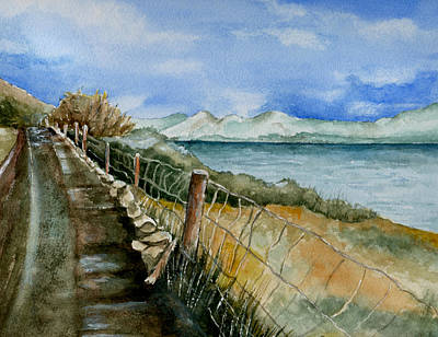 Maine Roads Painting - Rambling Walk by Brenda Owen