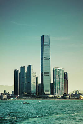 Hong Kong Digital Art - Ramparts Of Commerce by Joseph Westrupp