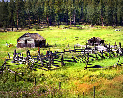 Photograph - Ranch Land by Marty Koch