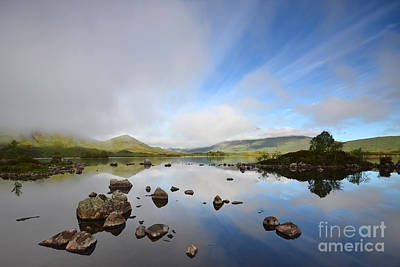 Loch Photograph - Rannoch Moor by Stephen Smith