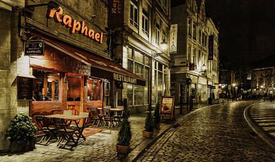 Night Cafe Photograph - Raphael by Torkil Storli