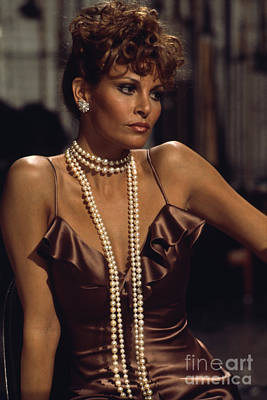 Jewellery Photograph - Raquel Welch by Terry O'Neill