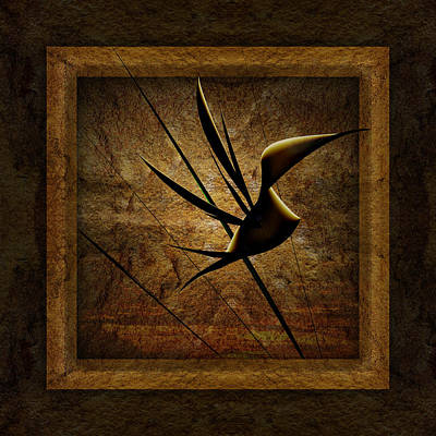 Phil Clark Digital Art - Rare Bird by Phil Clark