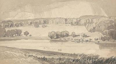 Raynham Hall, Norfolk Print by John Sell Cotman