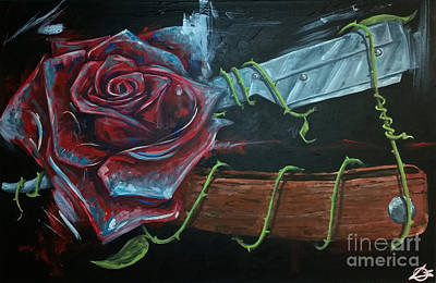 Razor Rose Original by Charles Edwards