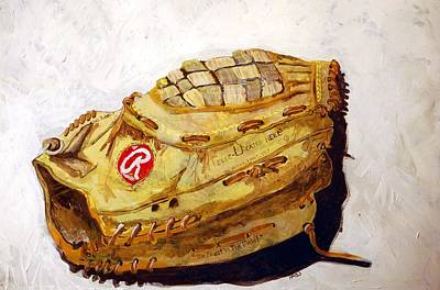 Rbg 36 Dale Murphy  Print by Jame Hayes