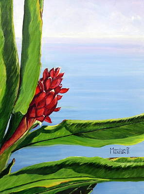Reaching Out Print by Marilyn McNish