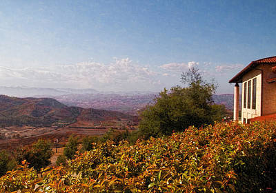Reagan Library Overlook Print by Glenn McCarthy Art and Photography