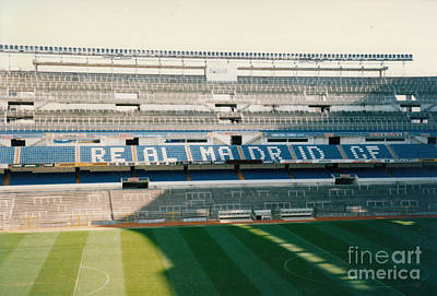 Cristiano Ronaldo Photograph - Real Madrid - Santiago Bernabeu Stadium - East Side 2 - Jan 1998 by Legendary Football Grounds