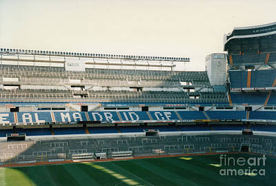 Cristiano Ronaldo Photograph - Real Madrid - Santiago Bernabeu Stadium - East Side 3 - Jan 1998 by Legendary Football Grounds
