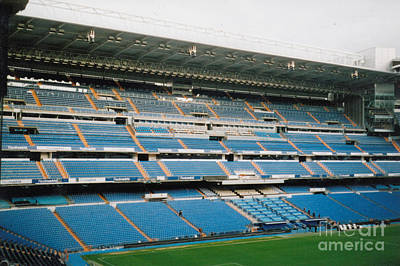 Cristiano Ronaldo Photograph - Real Madrid - Santiago Bernabeu Stadium - East Side 4 - Nov 2007 by Legendary Football Grounds