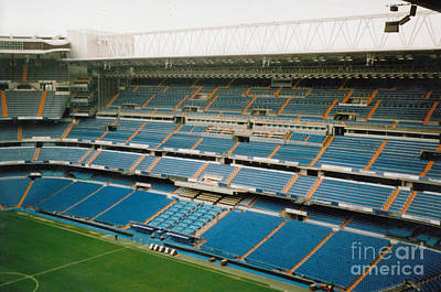 Cristiano Ronaldo Photograph - Real Madrid - Santiago Bernabeu Stadium - East Side 5 - Nov 2007 by Legendary Football Grounds