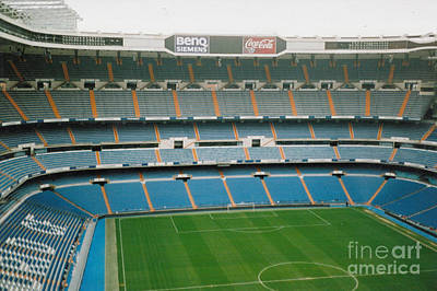 Cristiano Ronaldo Photograph - Real Madrid - Santiago Bernabeu Stadium - North End 2 - Nov 2007 by Legendary Football Grounds