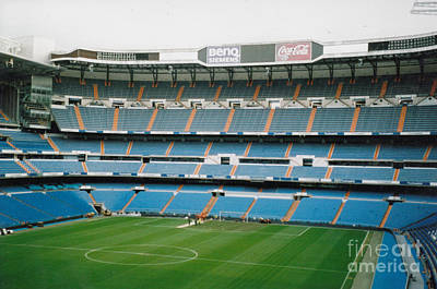 Cristiano Ronaldo Photograph - Real Madrid - Santiago Bernabeu Stadium - South End Stand 2 - Nov 2007 by Legendary Football Grounds