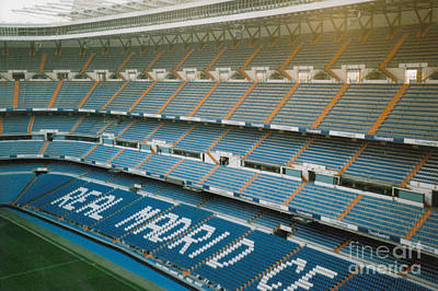 Cristiano Ronaldo Photograph - Real Madrid - Santiago Bernabeu Stadium - West Side 1 - Nov 2007 by Legendary Football Grounds