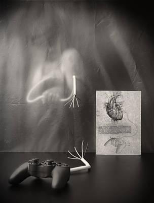 Rebel Heart Print by Vito Guarino