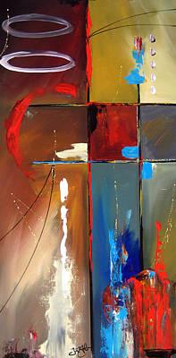 Modern Abstract Mixed Media - Reception by Tom Fedro - Fidostudio