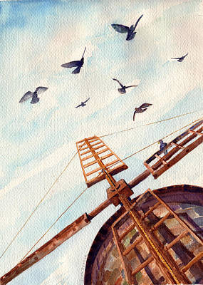 Ressler Painting - Recipe For A Stiff Neck by John Ressler