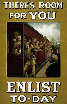 Recruitment Poster  Print by English School