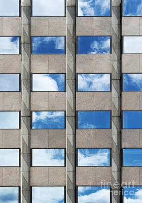Architectural Abstract Photograph - Rectangles  by Tim Gainey