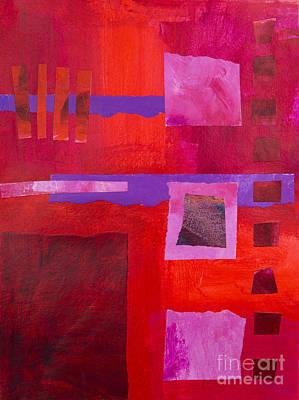 Mixed Media - Red 1 by Elena Nosyreva