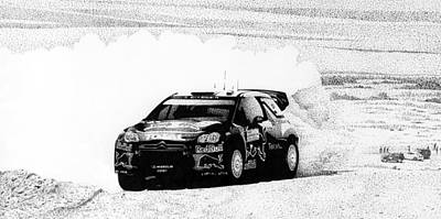 Red Bull Rally Original by Lyle Brown