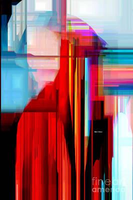 Art To Wear Digital Art - Red Cape by Rafael Salazar
