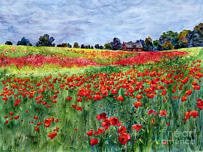 Red Carpet Print by Hailey E Herrera