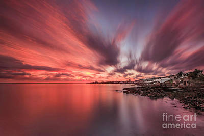 Forty Photograph - Red Dawn by Evelina Kremsdorf