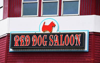 Red Dog Saloon Juneau Alaska Print by Barbara Snyder
