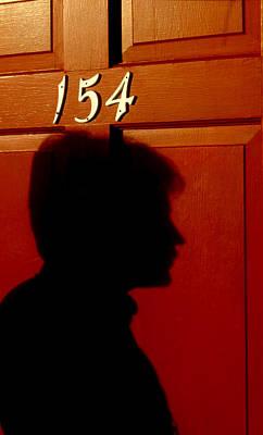 Red Door 154 Print by Tony Ramos