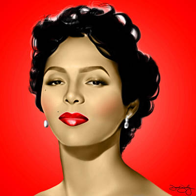 Red Dorothy Print by Davonte Bailey