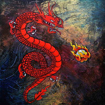 Red Dragon Original by Stephen Humphries