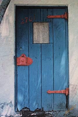 Red Hinges Print by Bob Whitt