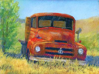 Grill Painting - Red International by David King