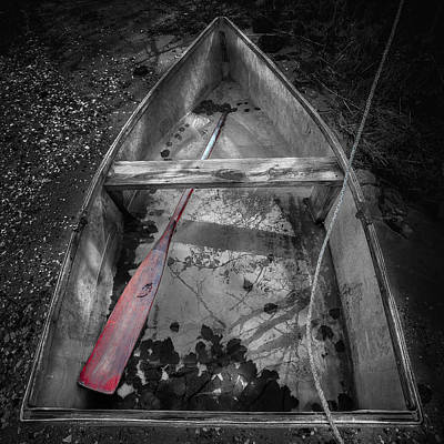 With Red Photograph - Red Oar by Dapixara Art