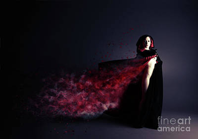 Red Riding Hood Photograph - Red Riding Hood by Nichola Denny