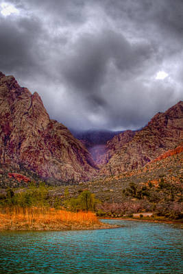 Old West Photograph - Red Rock Canyon by David Patterson