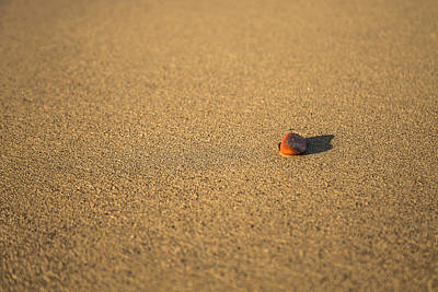 Porto Photograph - Red Rock Minimalism by Chris Fletcher
