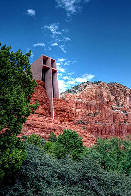 Red Rock Spirituality Print by Anthony Citro