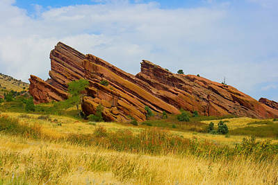 Striking Photograph - Red Rocks by James BO  Insogna