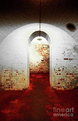 Red Room Print by Svetlana Sewell