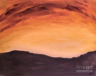Ptints Painting - Red Sky by Marsha Heiken