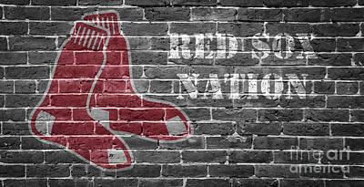 Red Sox Photograph - Red Sox Nation by Edward Fielding