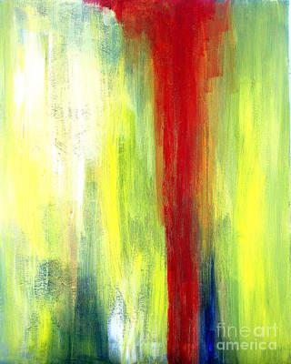 Red Streak Alone Original by Julie Lueders