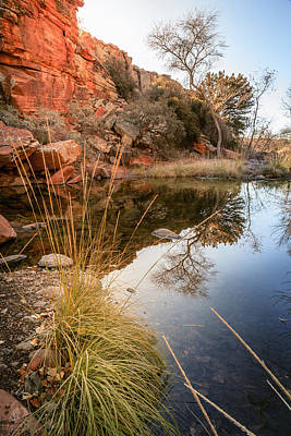 Southwest Landscape Photograph - Red Tank Draw by Alexey Stiop