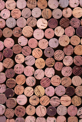 Manmade Photograph - Red Wine Corks 169 by Frank Tschakert