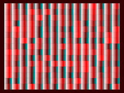 Red Digital Art - Red.119 by Gareth Lewis