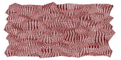 Mountain Digital Art - Red.167 by Gareth Lewis