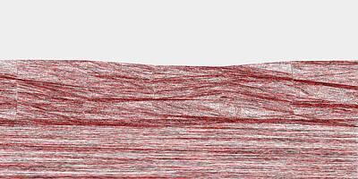 Sky Digital Art - Red.316 by Gareth Lewis